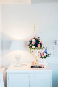 Venue embellishment arrangement in setting